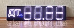 Светодионный ценник 1400х320мм