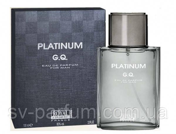Туалетная вода мужская Platinum G.Q. 100ml