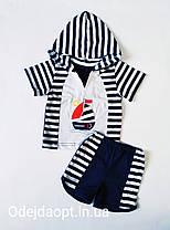 Детский летний  комплект для мальчика футболка и шорты