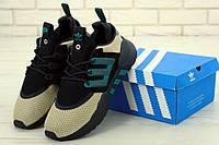 Кроссовки мужские Adidas Packer Equipment 91/18 в стиле Адидас Эквипмент 91/18, черные