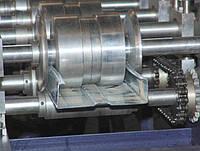 Изготовление профилей из листового металла по чертежам заказчика длиной до 4 метров.