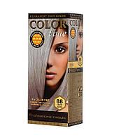Краска для волос №88 серебряный русый, 100 мл, Color Time Роза Импекс
