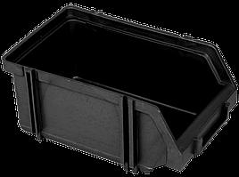 Контейнер модульний малий 170х100х75 мм Чорний