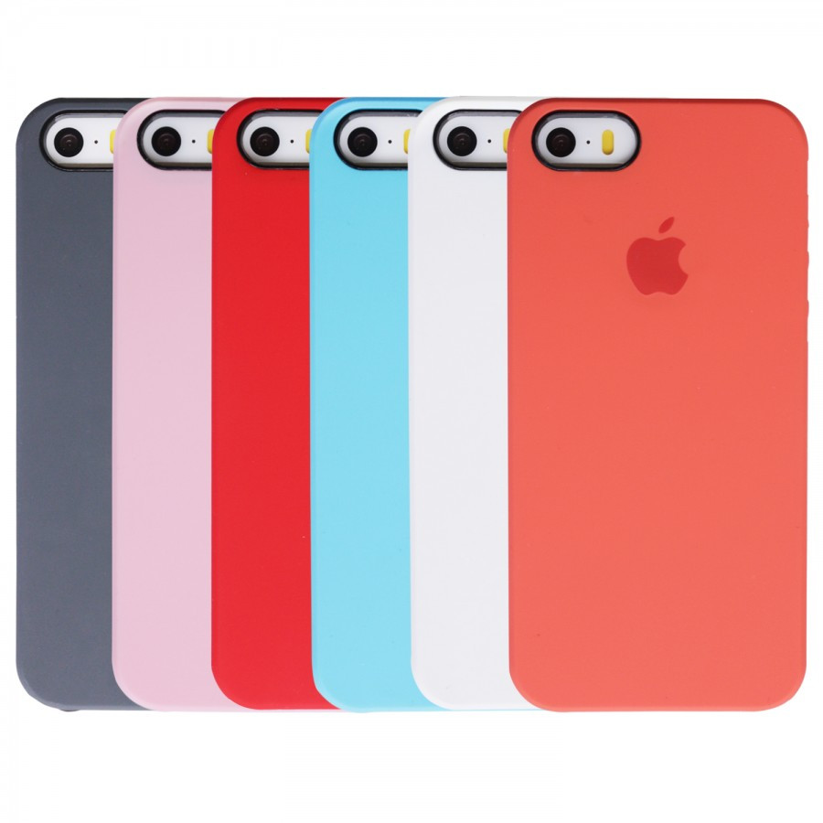 Чехол накладка Silicone Case на Apple iPhone 5/5s