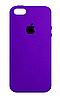 Чехол накладка Silicone Case на Apple iPhone 5/5s, фото 4