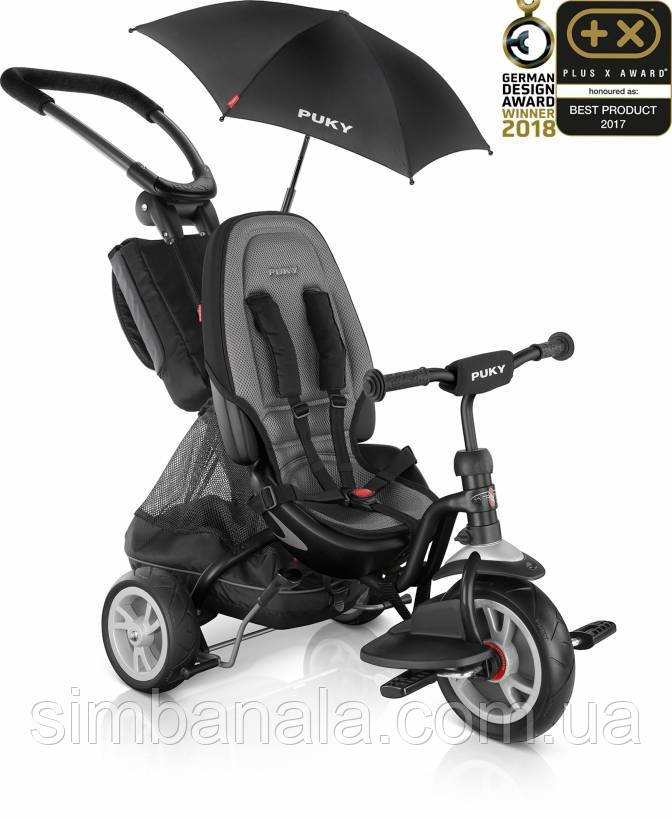 Трехколесный велосипед Puky CAT S6 Ceety (2418, черный(Black))