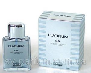 Туалетная вода мужская Platinum E.G.100ml