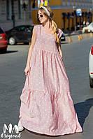 Летнее платье в стиле oversize / батист / Украина 7-2-201, фото 1