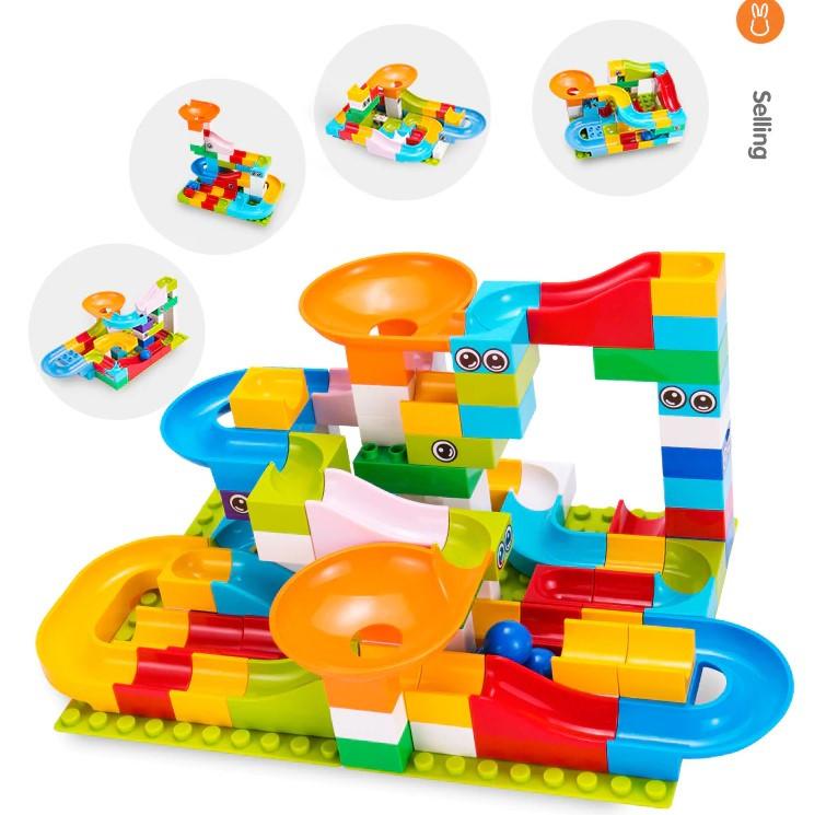 Развивающий конструктор Трек Лабиринт Tumama 52 детали Совместим с LEGO