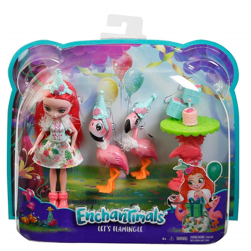 Набор Enchantimals let's flamingle Праздник фламинго