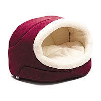 Домик Pet Fashion «Комфорт» 42 см / 28 см / 27 см (бордовый)