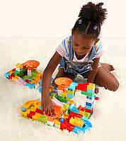 Развивающий конструктор Трек Лабиринт Tumama 156 детали Совместим с LEGO, фото 1