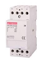 Модульний контактор e.mc.220.2.25.2 NO, 2р, 25А, 2NO, 220В