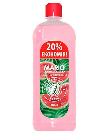 Жидкое крем – мыло Арбуз, 1 л, Mario Watermelon