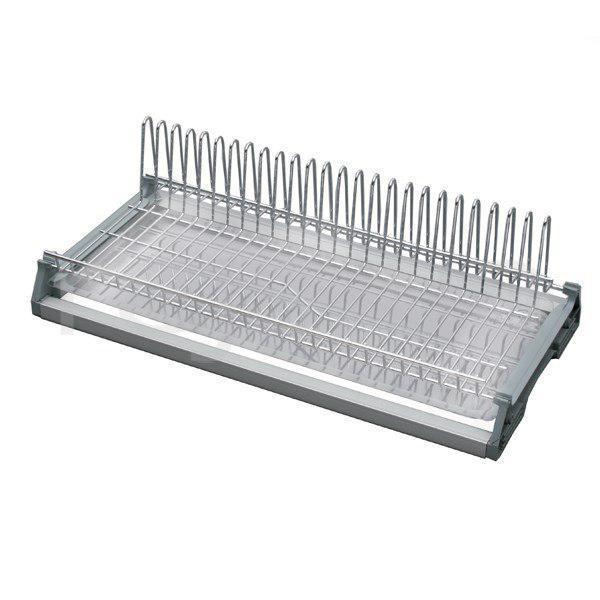 Сушка для посуды хром Variant одноуровневая (с рамой) Rejs L-