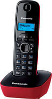 Радиотелефон Panasonic KX-TG1611UAR Black Red