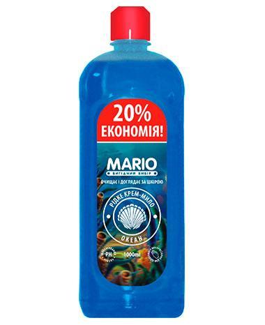 Жидкое крем – мыло Океан, 1 л, Mario Ocean