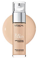 Тональный крем L'Oreal Paris True Match Foundation  - 30 мл (ПАЛИТРАМИ- (A №1,3,5) (B №2,4,6) A №01,03,05, фото 1