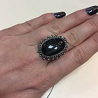 Соколиный глаз питерсит овальное кольцо с соколиным глазом и питерситом 16.5 размер Индия, фото 1