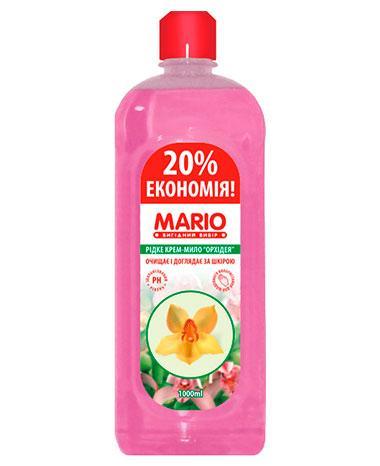 Жидкое крем – мыло «Орхидея», 1 л, Mario Orchid