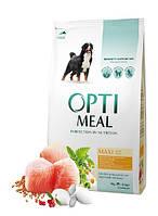 "Optimeal ""Курица"". Пакет. Сухой корм для собак больших пород. 4кг."