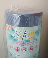 Простыни 0,6м*100м Softex Meditex, плотность 23гр\м2 (разных цветов)