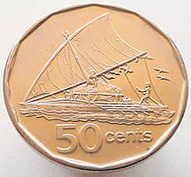 Фиджи 50 центов 2009