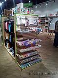 Панели для магазина, экспопанели, клен, шаг 100мм, 12 пазов, фото 4