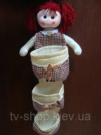 Органайзер Кукла на 12  карманов