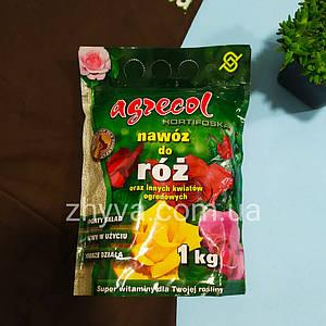 Добриво Agrecol для троянд Hortifoska 1кг