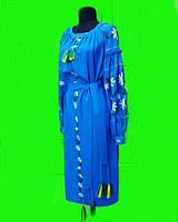 Платье женское лён длинное