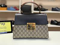 Женская кожаная сумка Gucci, фото 1