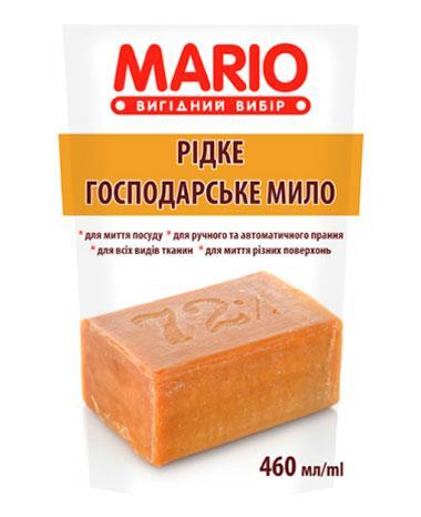 Жидкое хозяйственное мыло, 460 мл, Mario