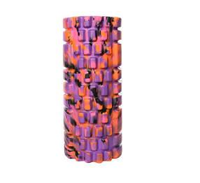 Масажер MS 0857-1 рулон для йоги, EVA, 4 кольори мультиколір Фіолетовий