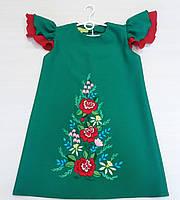 Платье вышитое для девочек Алина