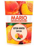Жидкое крем-мыло Персик дой-пак, 460 мл, Mario Peach Марио