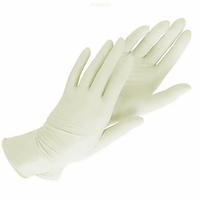 Перчатки нитриловые белые