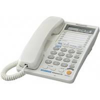 Телефон Panasonic KX-TS2368UAW White (двухлинейный)