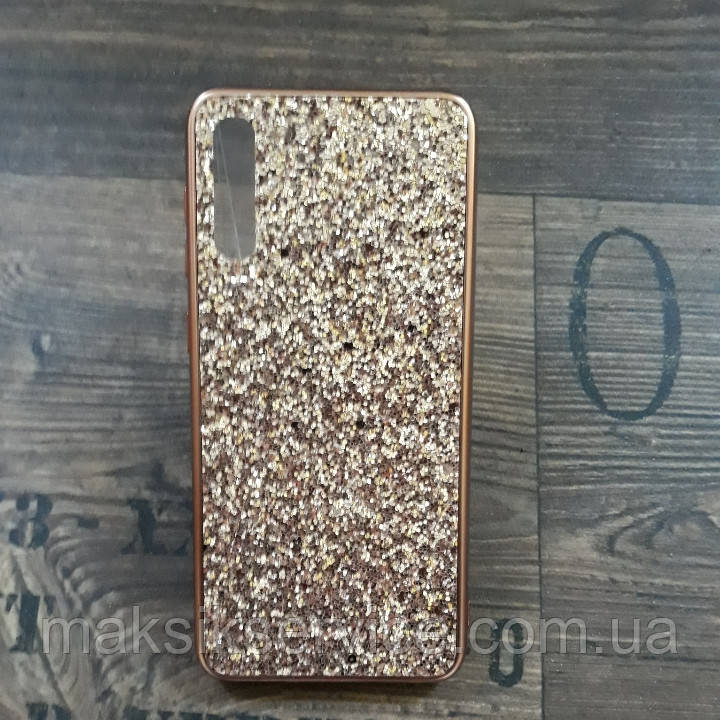 Чехол Shining Samsung A50 \ A50S \ A30S rose gold