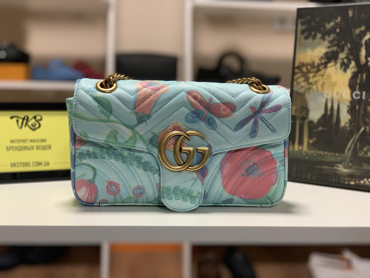 Сумка Gucci GG Marmont 9А (Гуччи) арт. 04-20