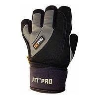 Перчатки для тяжелой атлетики Power System S2 Pro FP-04 Grey M, фото 1
