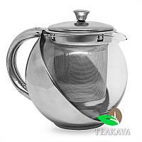 Заварник стеклянный для чая 500 мл