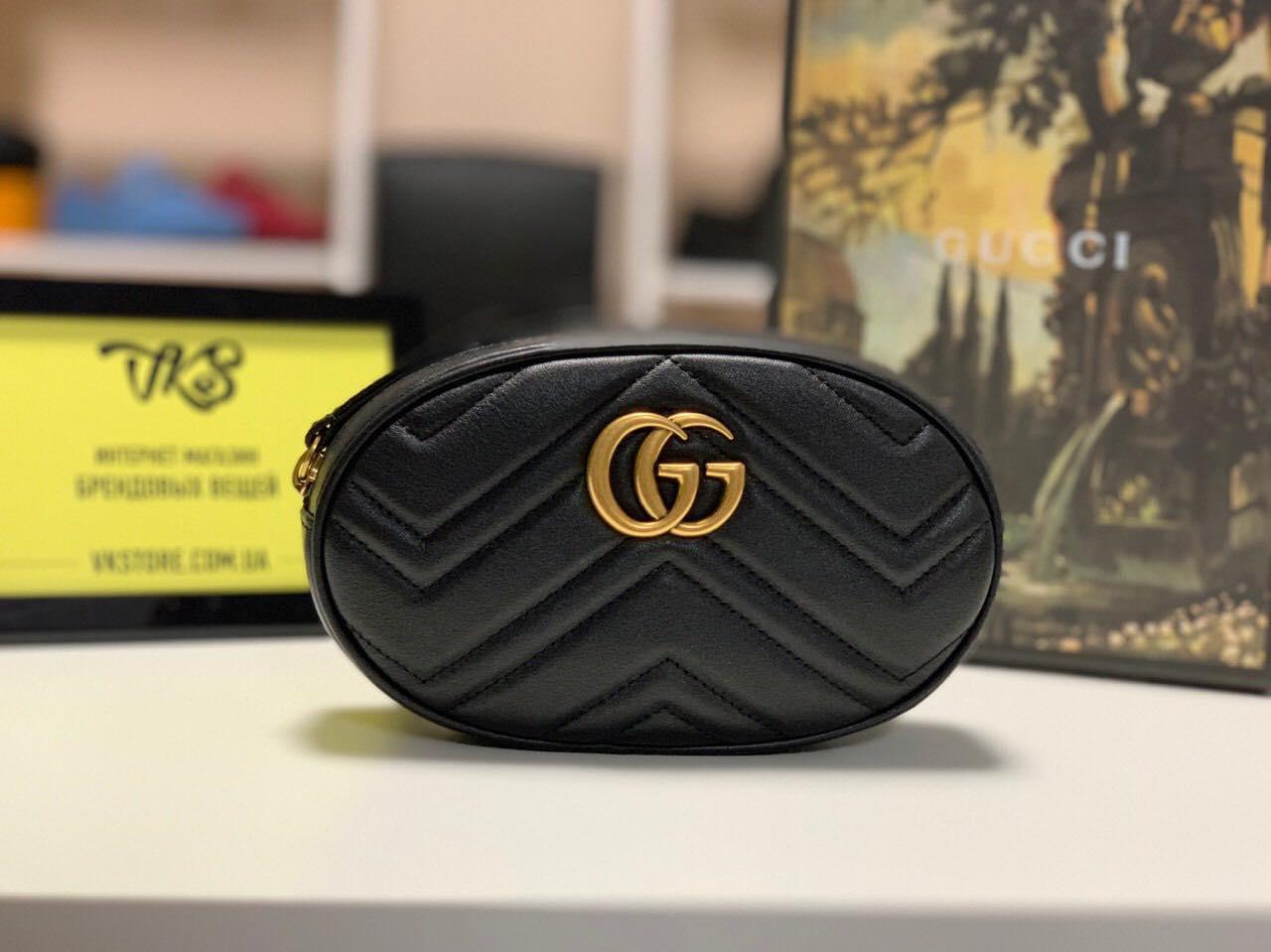 Поясная сумка GG Marmont Gucci (Гуччи) арт. 04-13