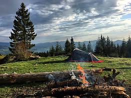Палатка 2-х местная туристическая двухслойная легкая Tramp Bike TRT-020.