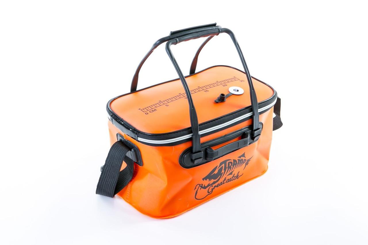 Сумка рибальська Tramp Fishing bag EVA Orange - S  (14 Л) 35 х 20 х 20 см