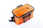 Сумка рибальська Tramp Fishing bag EVA Orange - S  (14 Л) 35 х 20 х 20 см, фото 2