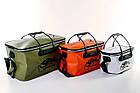 Сумка рибальська Tramp Fishing bag EVA Orange - M (28 Л) 45 х 25 х 25 см, фото 5