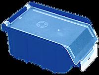 Контейнер облегченный с крышкой малый 170х110х75 мм Синий
