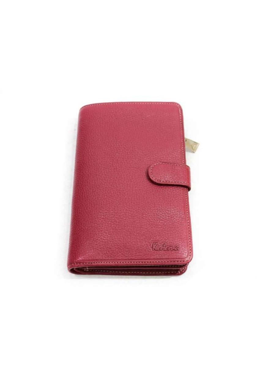 Великий жіночий гаманець з натуральної шкіри Katana