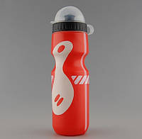 Бутылка для велосипеда (фляга для воды) Discovery 650 ml red-white